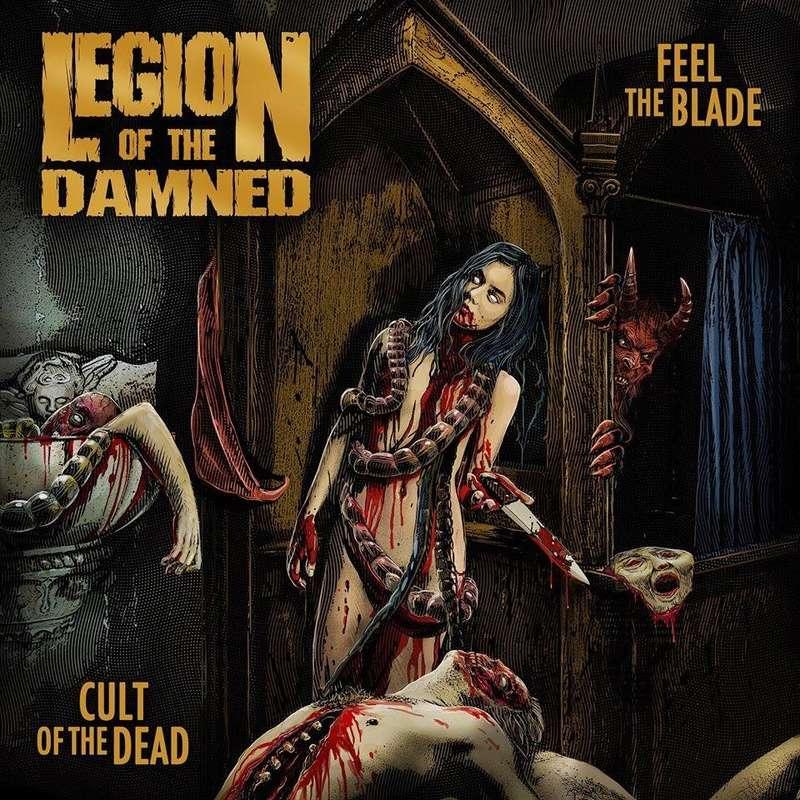 Réédition des albums de LEGION OF THE DAMNED avec de nouveaux artwork ... 47179010
