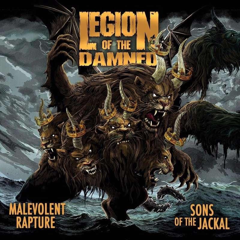 Réédition des albums de LEGION OF THE DAMNED avec de nouveaux artwork ... 47316010