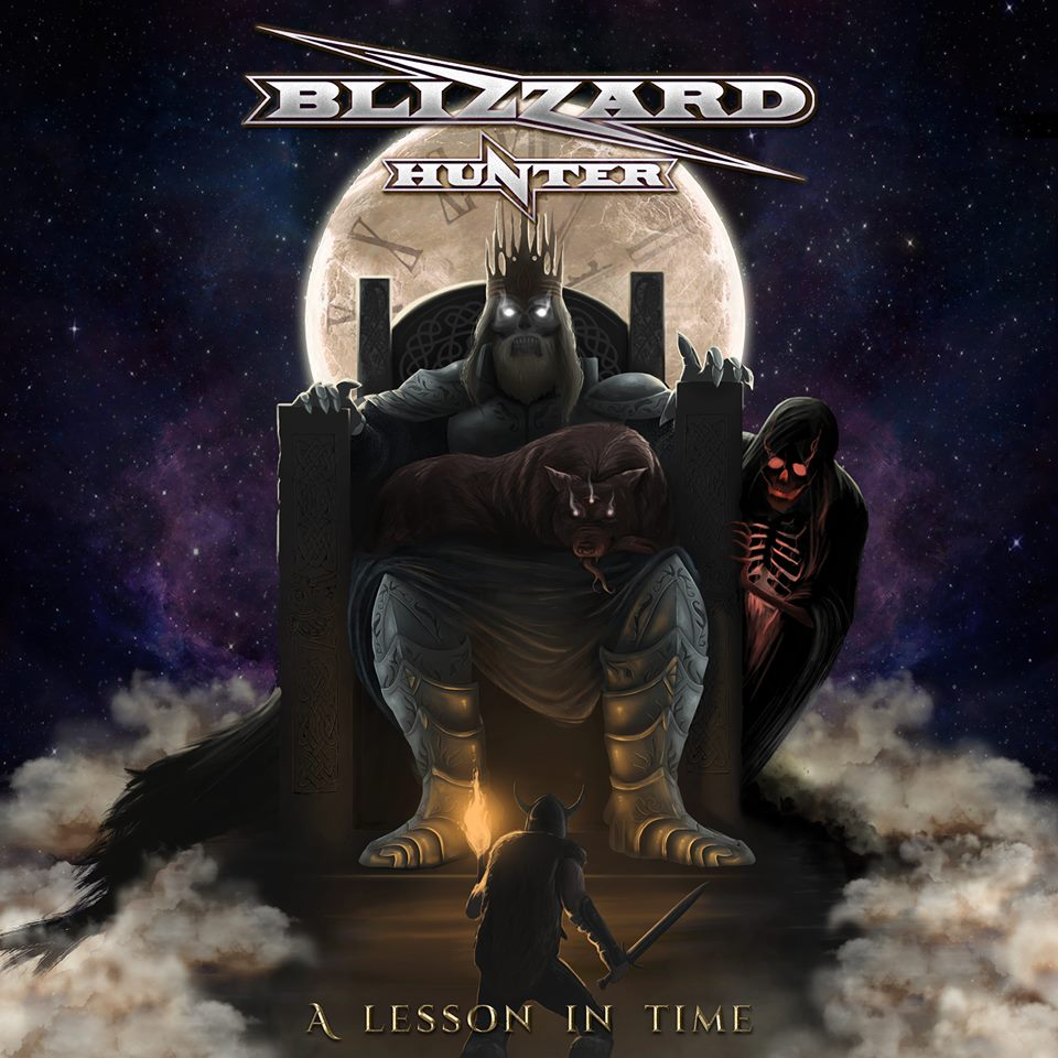 BLIZZARD HUNTER A Lesson in Time (2019) EP Heavy Metal  47580710