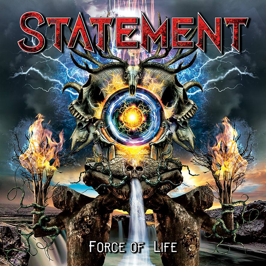 STATEMENT Force Of Life (2019) Hard Rock DANEMARK 49530410