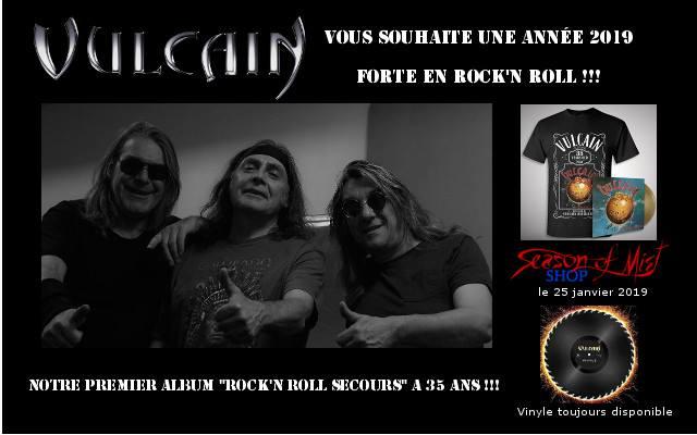 """Réédition de """"Rock n'Roll Secours"""" de VULCAIN chez Season OF Mist ... 49707110"""