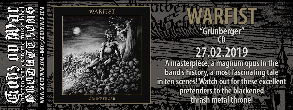 WARFIST Grünberger (2019) Black, Thrash Metal Pologne 50652410