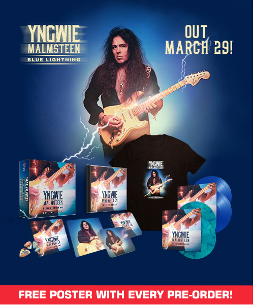 YNGWIE MALMSTEEN Blue Lightning (2019) Heavy Symphonic  51033610