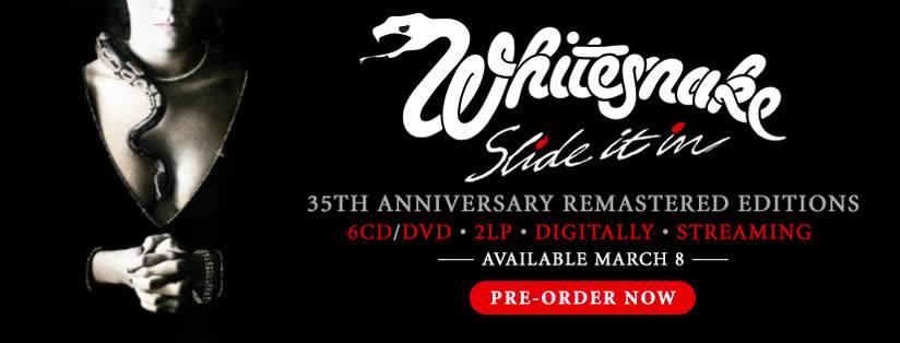 WHITESNAKE Slide It In (1984-2019) Réédition pour le 35ème anniversaire ... 51253910