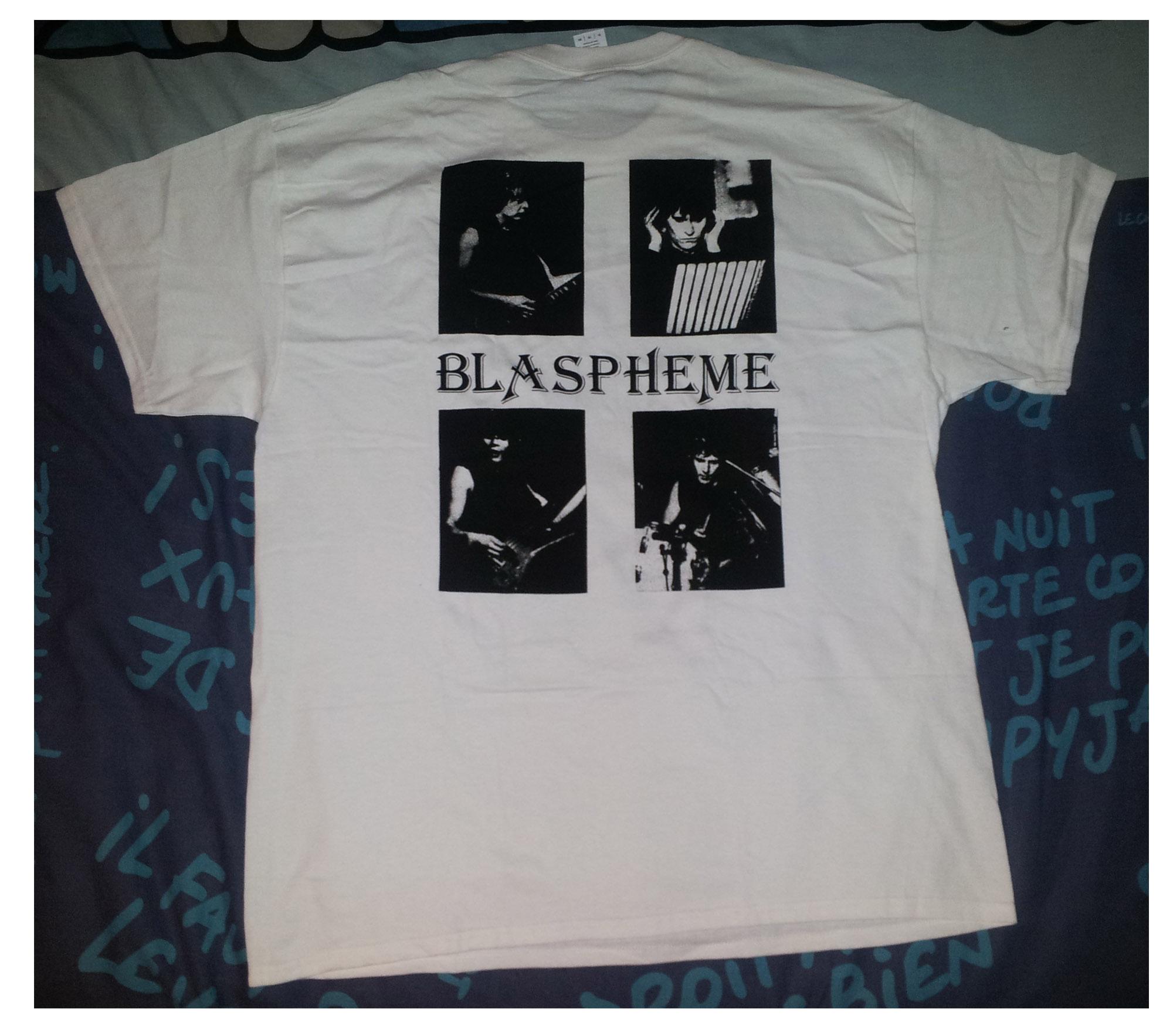 """reédition en cassette BLASPHEME """"désir de vampire"""" Christophe Bailet 515"""