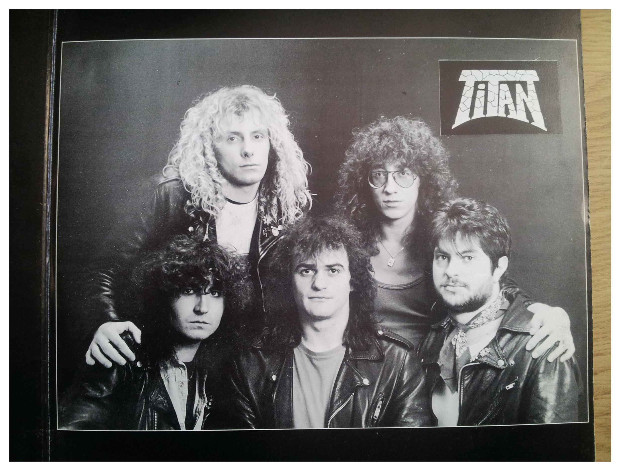 TITAN Popeye le Road (1988) le vinyle vu de plus près ... 516