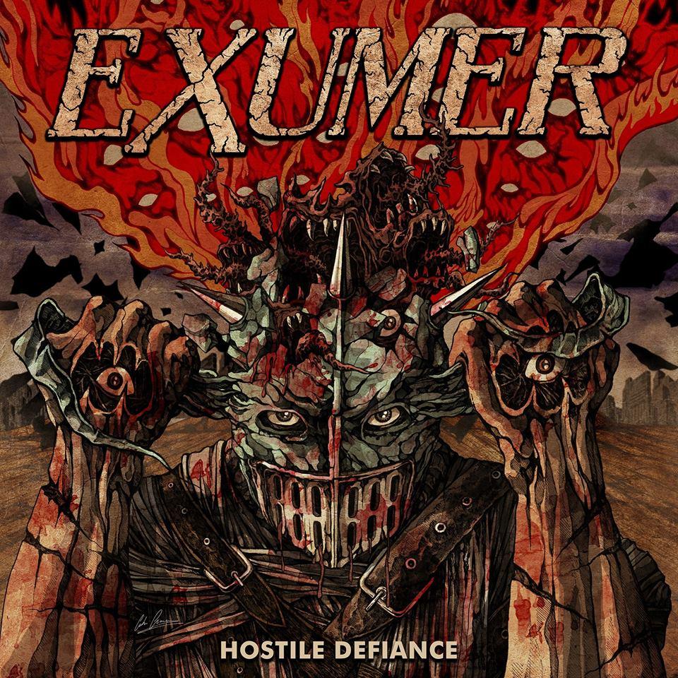 EXUMER Hostile Defense (2019) Thrash Allemagne 51672110