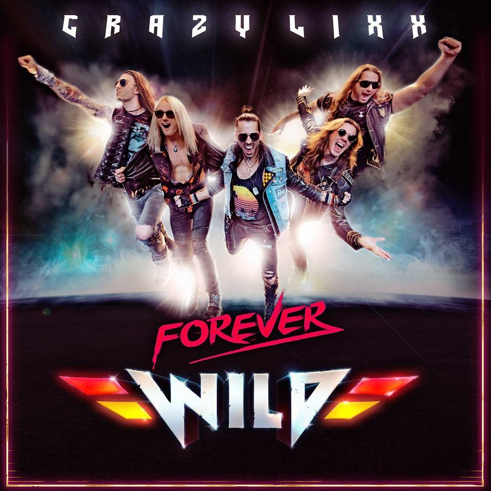 CRAZY LIXX Forever Wild (2019) Hard-Rock Suède 52397710