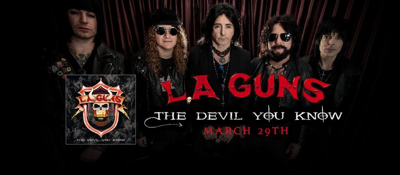 L.A GUNS The Devil You Know (2019) Hard-Rock U.S.A 52480910