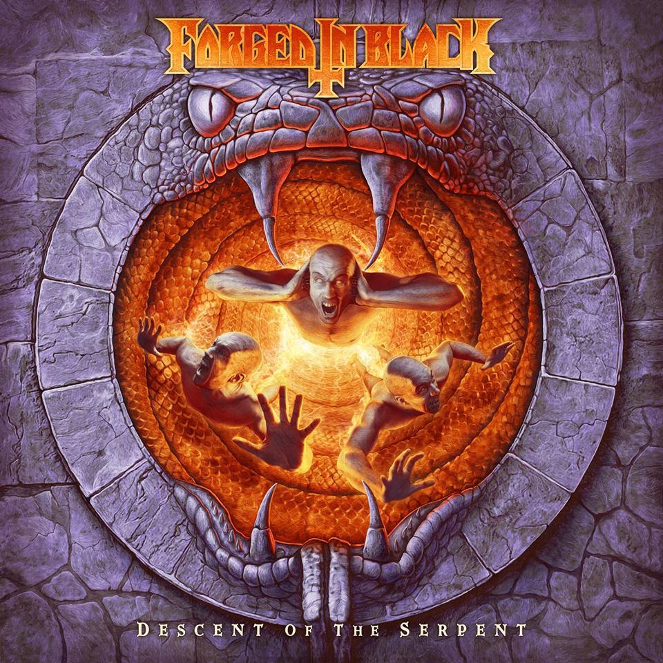 FORGED IN BLACK Descent of the Serpent (2019) Heavy/Thrash Angleterre  53040310
