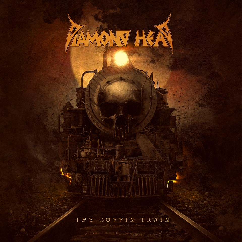 DIAMOND HEAD The Coffin Train (2019) Heavy Metal Angleterre 53121510