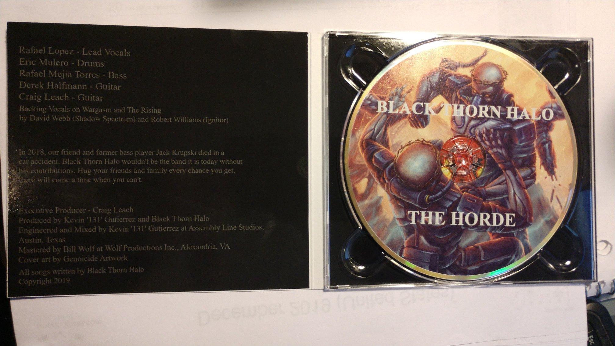 BLACK THORN HALO The Horde (2019) Thrash U.S.A 53146110