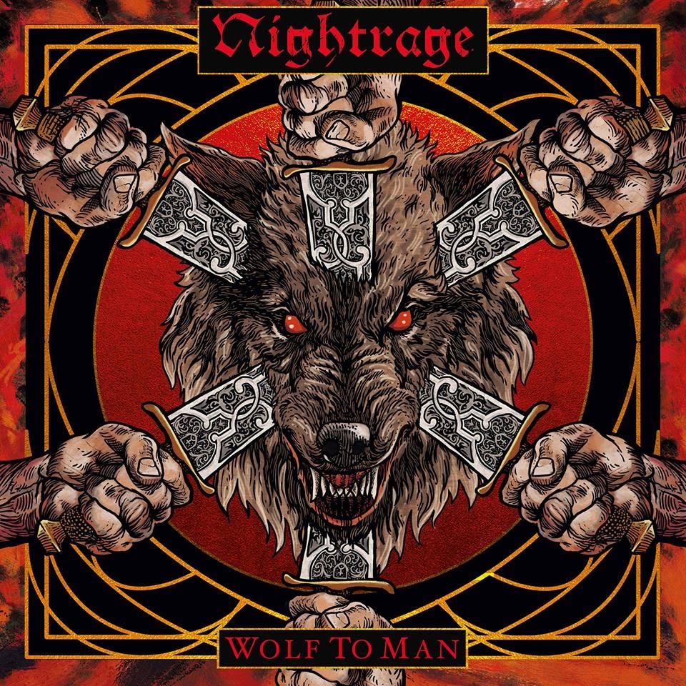 NIGHTRAGE Wolf To Man (2019) Death/Thrash Mélodique Suède 53412610