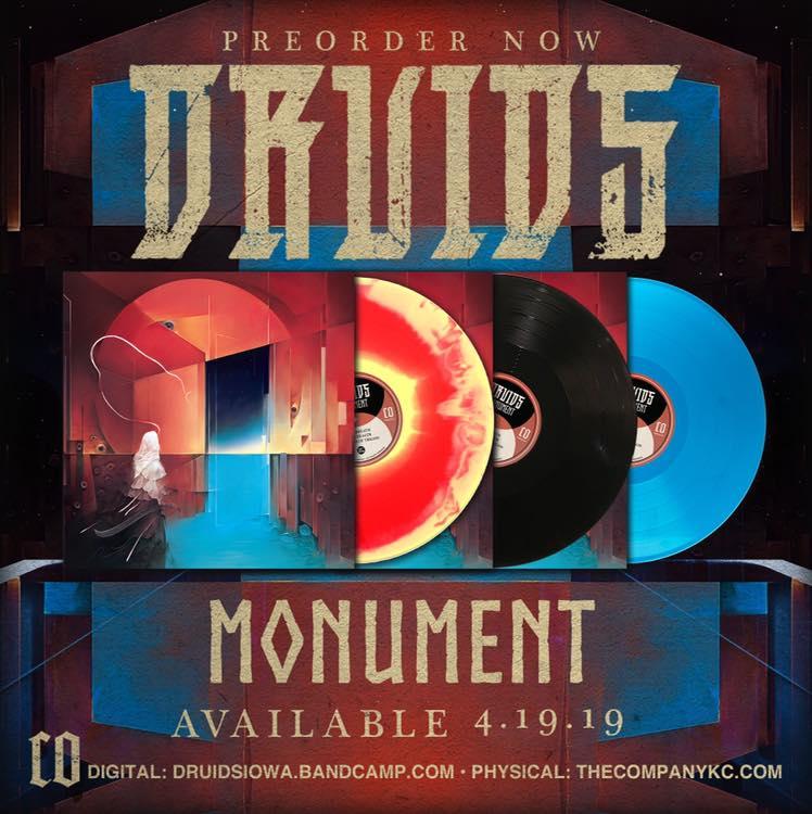 Nouveau clip : DRUIDS Shivast (2019) Stoner Psychédélique Metal U.S.A 54462910