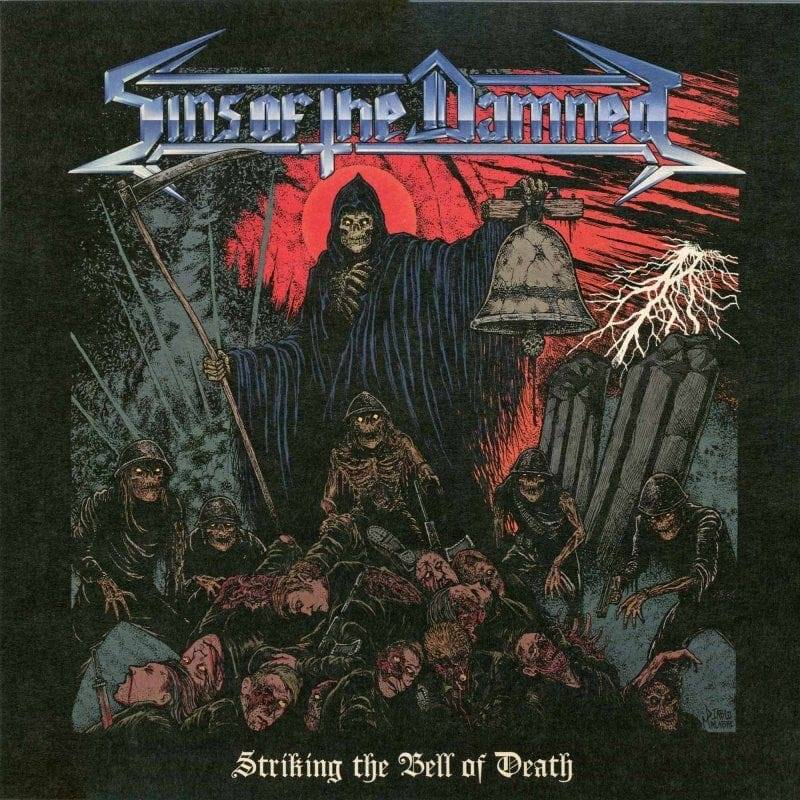 SINS OF THE DAMNED Striking the Bell of Death (2019) Speed Metal CHILI 55600710