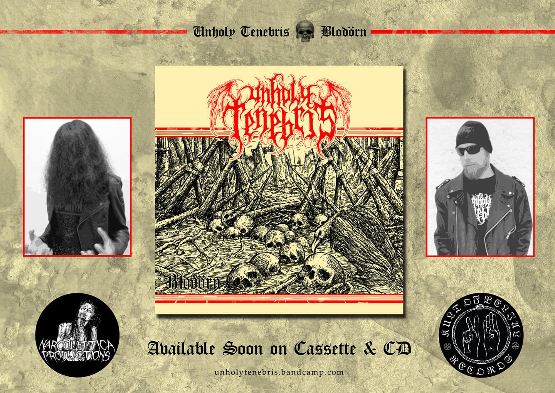 UNHOLY TENEBRIS Blodörn (2019) Black Metal Suède 56158210