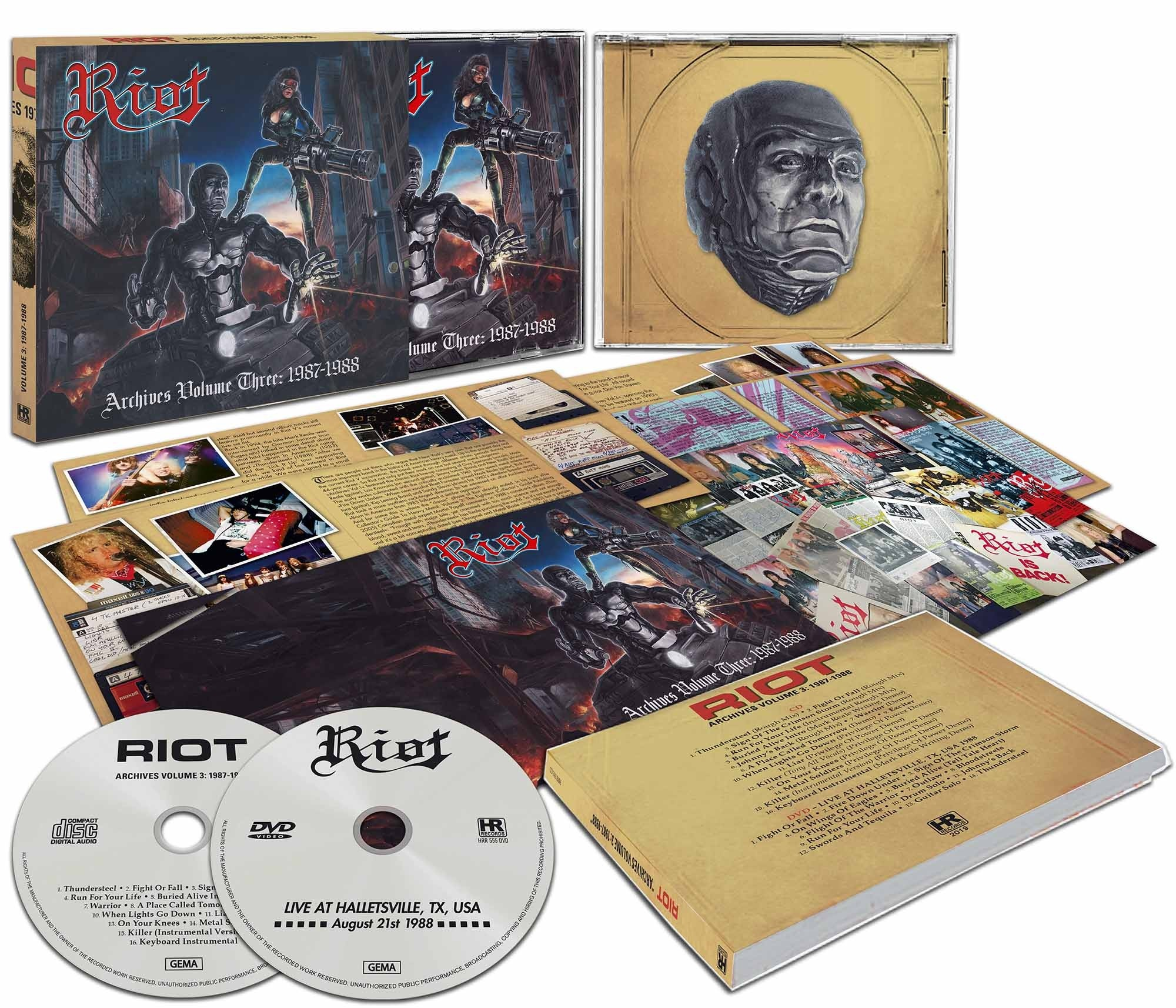 RIOT Archive Volume III (2019) Hard/Heavy U.S.A 56720_10