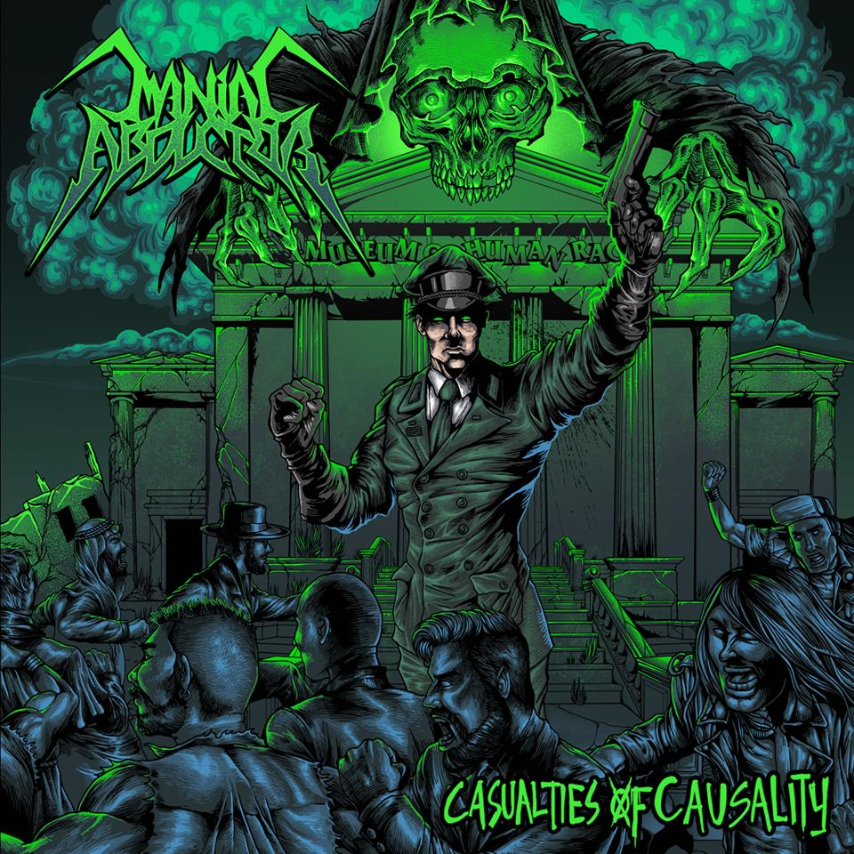 MANIAC ABDUCTOR Casualties of Causality (2019) Thrash Finlande 56800810