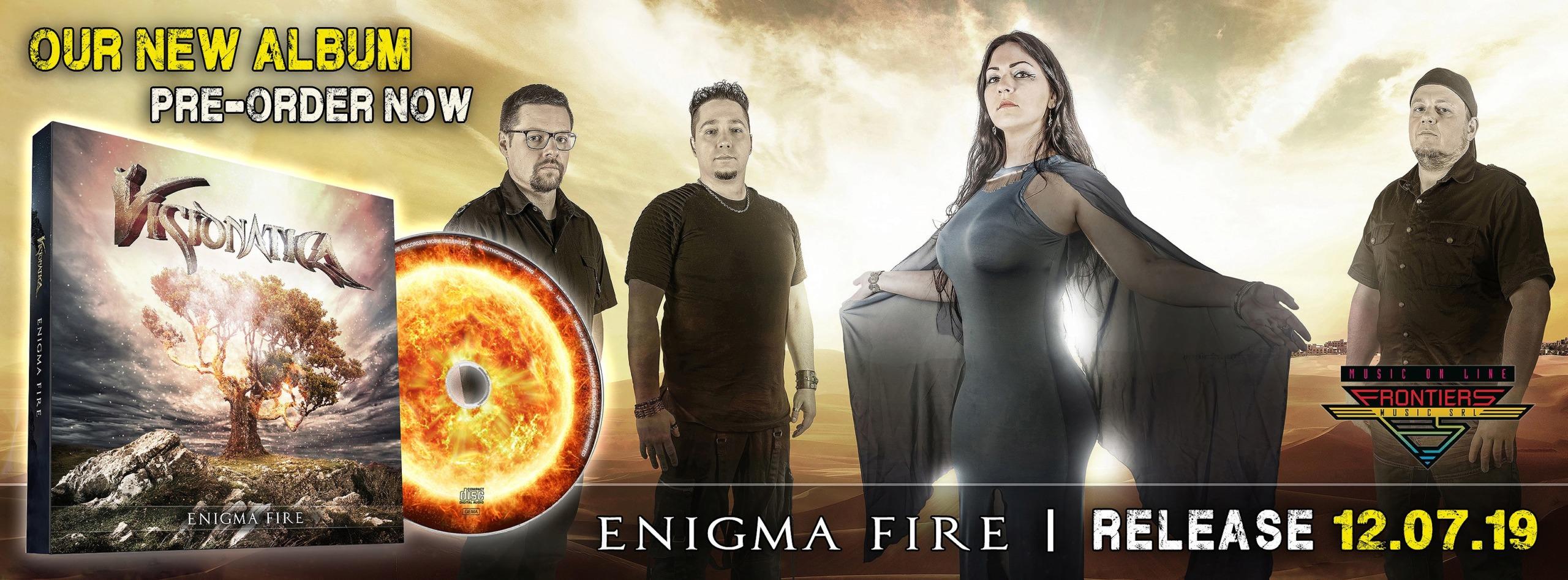 VISIONATICA Enigma Fire (2019) Metal Symphonic Allemagne 57092810