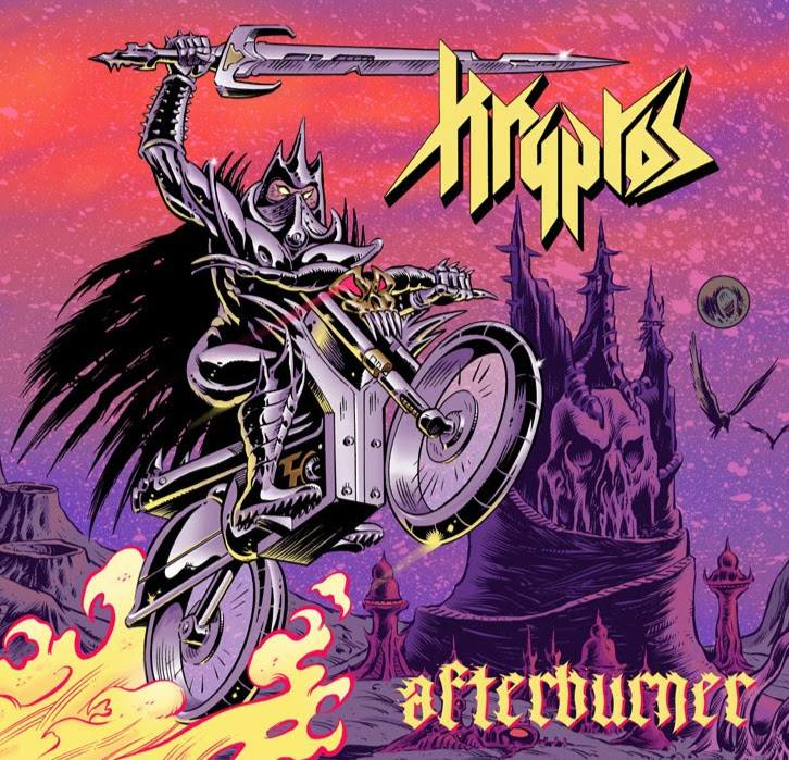 KRYPTOS Afterburner (2019) Heavy Metal INDE 57750910