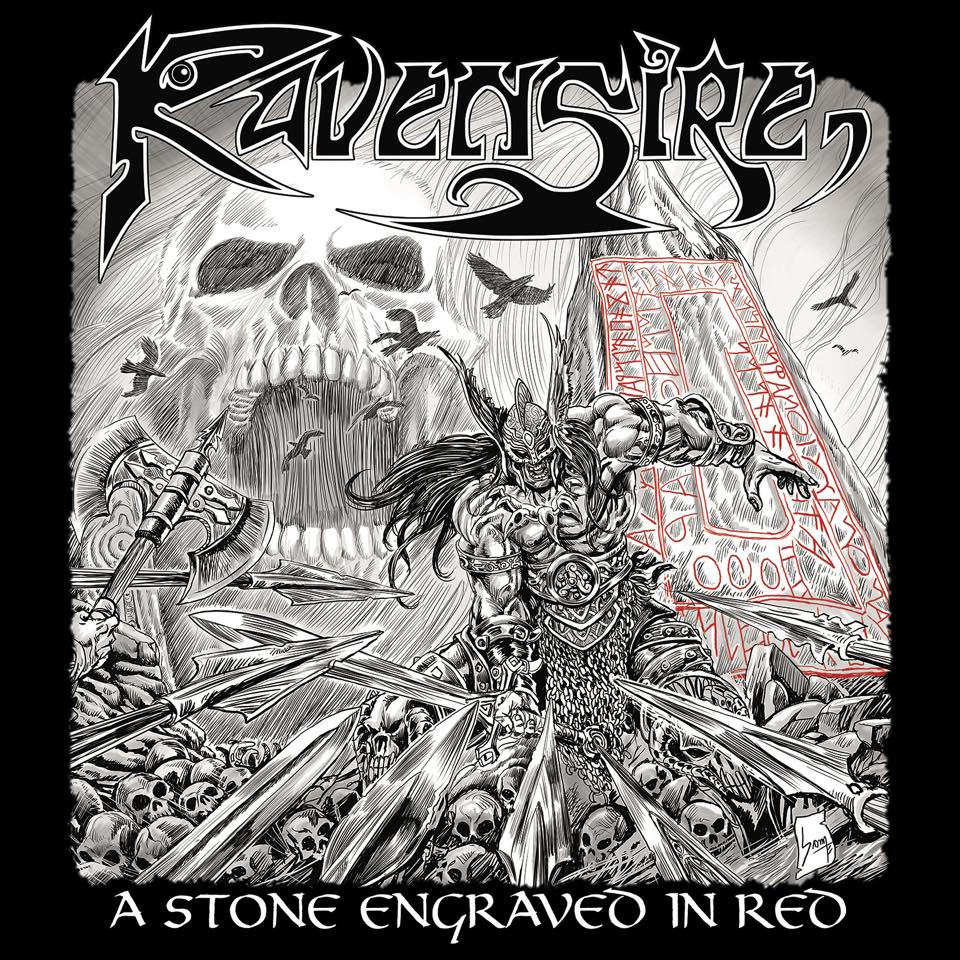 RAVENSIRE A Stone Engraved In Red (2019) Heavy Metal Portugal 58444810