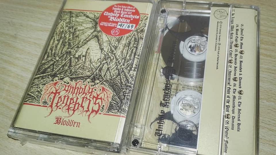 UNHOLY TENEBRIS Blodörn (2019) Black Metal Suède 58570510