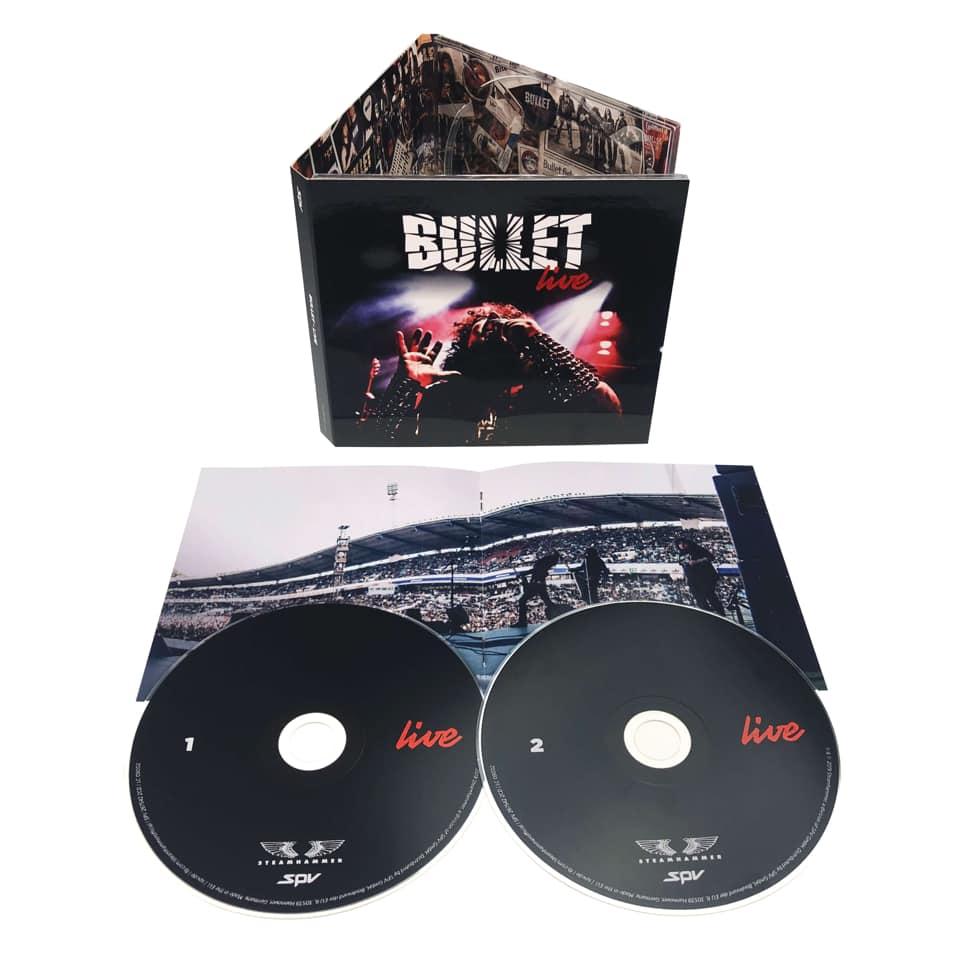 "BULLET    ""Live""   (JUIL 2019) 58761410"
