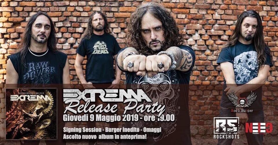 EXTREMA Headbanging Forever (2019) Thrash Italie 59971810