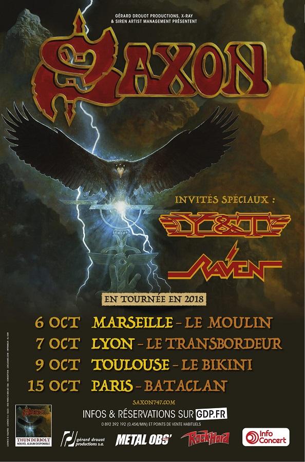 Concert SAXON au Moulin à Marseille le samedi 6 octobre 2018 5b8d6f10