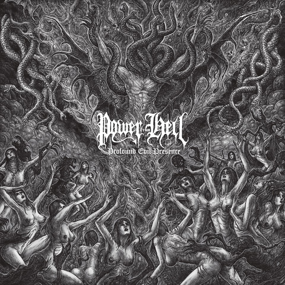 POWER FROM HELL Profound Evil Presence (2019) Black/thrash Brésil  60225110