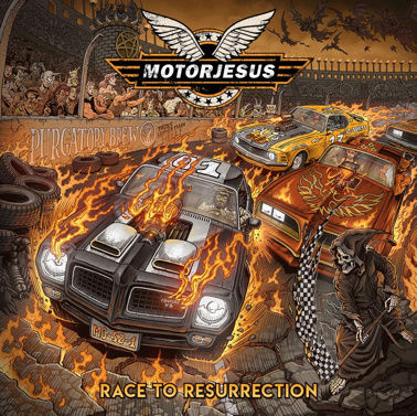 MOTORJESUS Race To Resurrection (2018) Heavy Rock ALLEMAGNE 60243-10