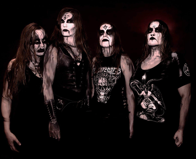 Les black-métalleuses d'ASAGRAUM Live at Meh Suff ! Metal-Festival 2018  60357510