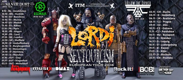 LORDI Sexorcism (2018) Hard Rock FINLANDE 60794-10