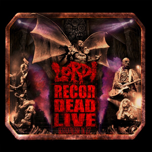 "LORDI Live DVD ""Recordead Live - Sextourcism In Z7 (2019) Heavy Metal - FINLANDE 60828010"
