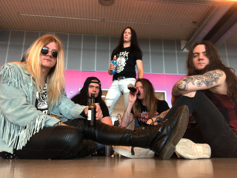 AERODYNE Damnation (2019) Heavy Metal Suède 61198410
