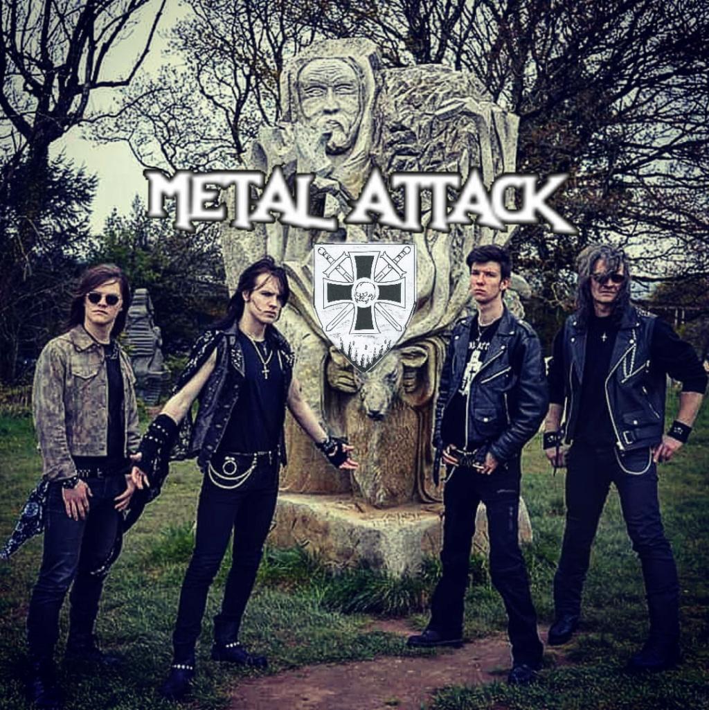 METAL ATTACK Combattre les ténèbres (2020) Heavy/Speed Pontivy 61226610