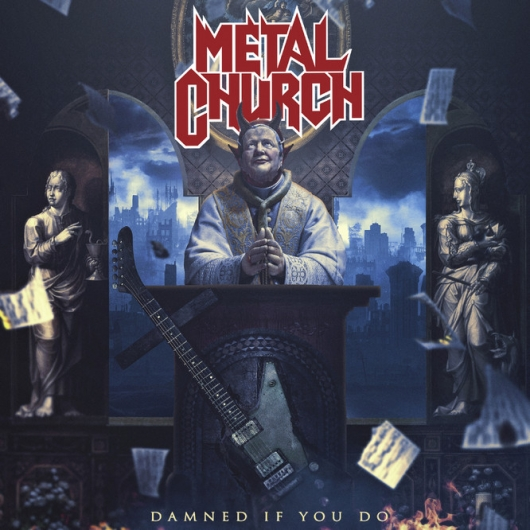 METAL CHURCH Damned If You Do (2018) Heavy/Speed USA 61230-10