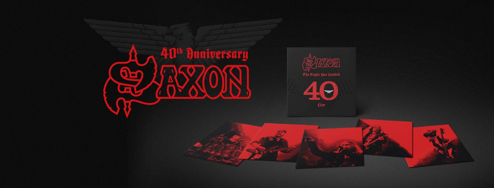 SAXON The Eagle Has Landed 40 (Live) (2019) Heavy Metal Angleterre 61269410