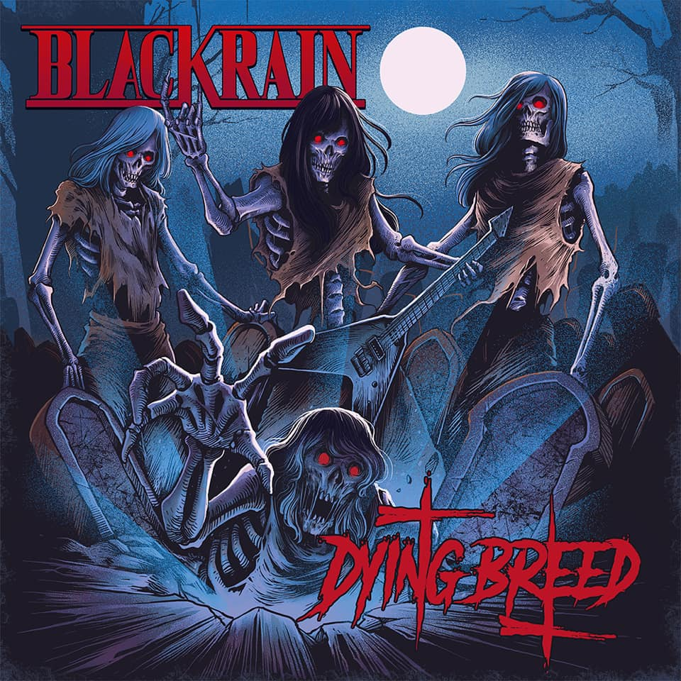 BLACKRAIN Dying Breed (2019) Glam Rock Paris 61320810