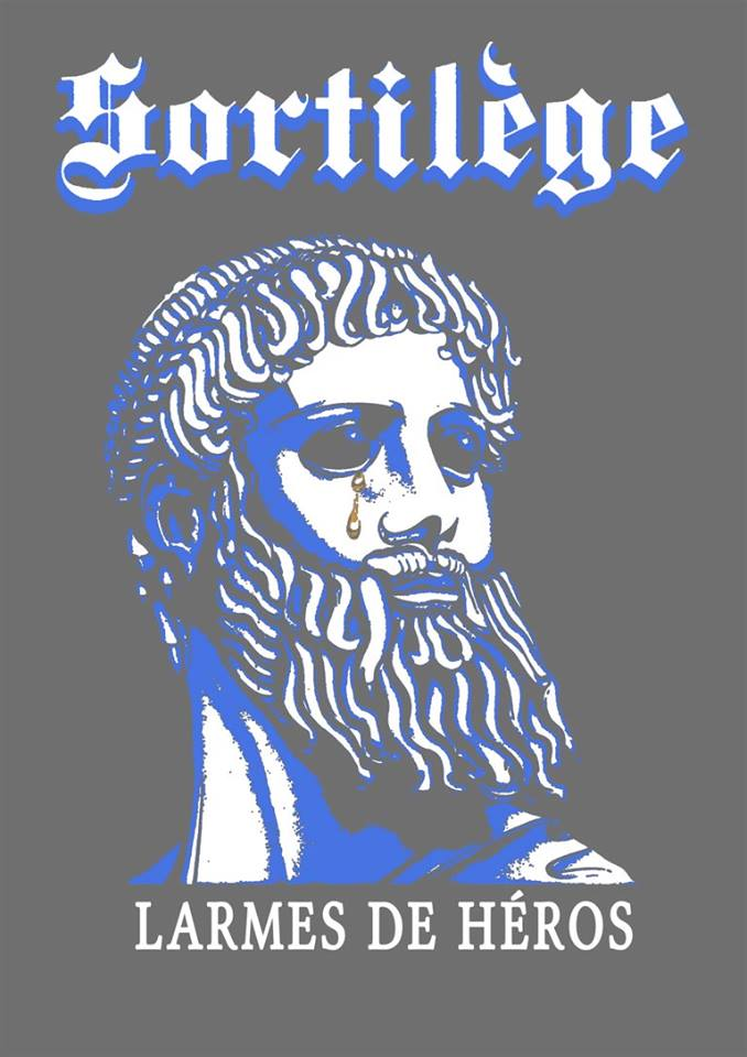 Tee-shirt Larme de héros SORTILEGE chez Grumpy Mood ! 61531210
