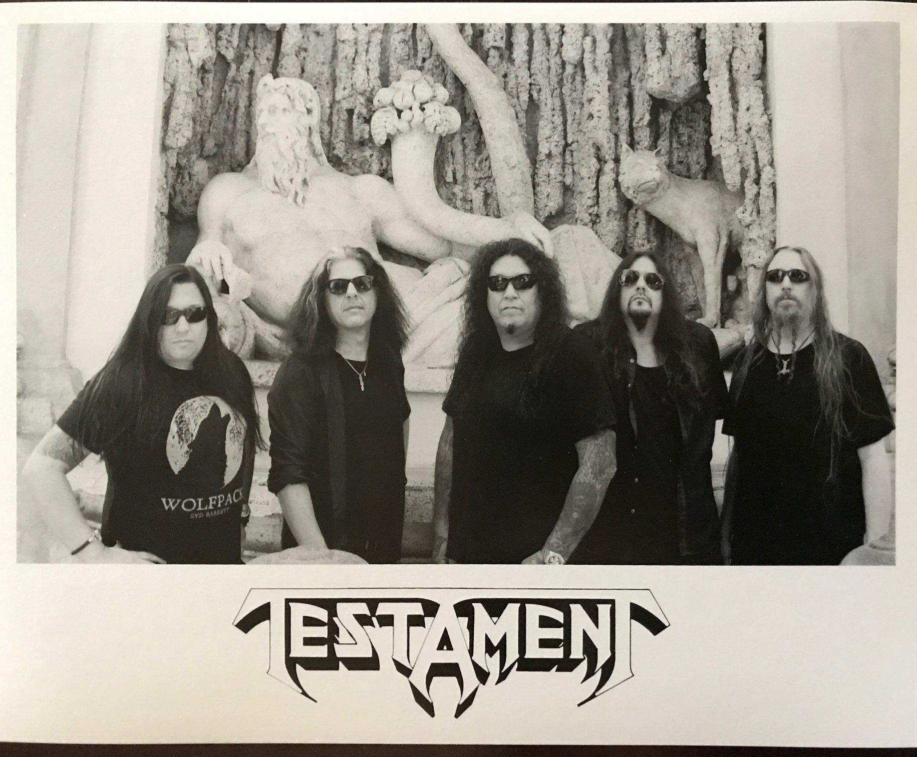TESTAMENT Live Hellfest Festival 2019 (set complet) 62185310