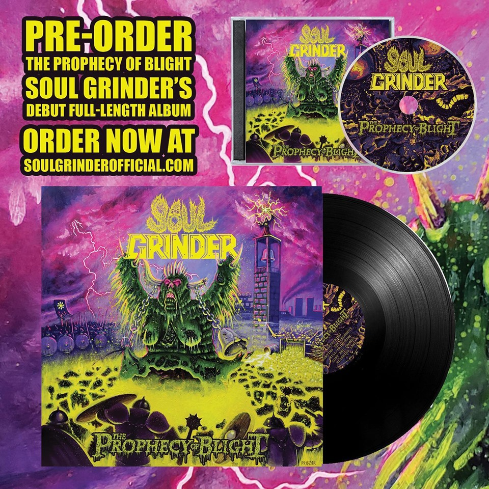 SOUL GRINDER The Prophecy of Blight (2019) Heavy/Thrash U.S.A 62517310