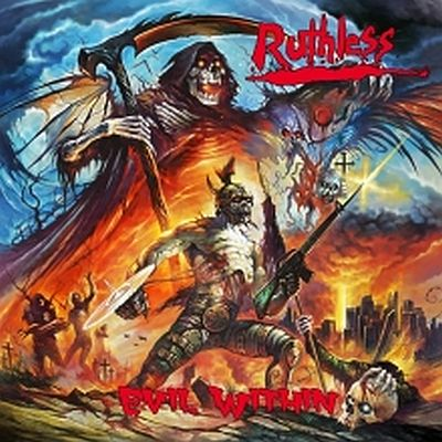 RUTHLESS Evil Within (2019) Heavy Metal U.S.A 62535-10