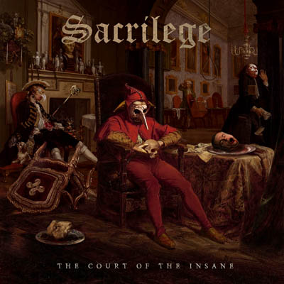 SACRILEGE The Court Of The Insane (2019) Heavy Metal Angleterre 62919-10
