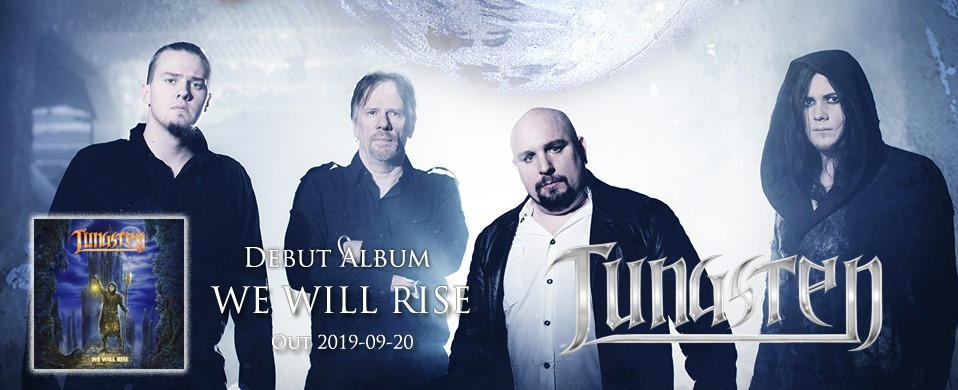 TUNGSTEN We Will Rise (2019) Metal Melodic Suède 64873510
