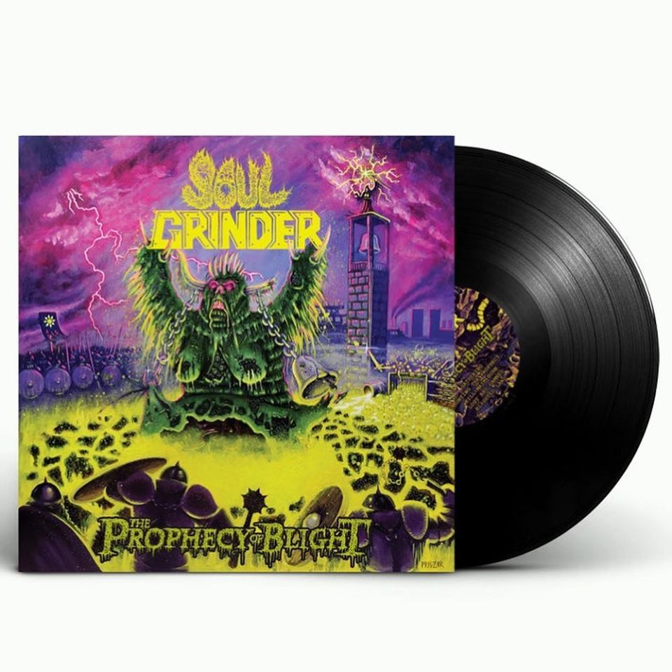 SOUL GRINDER The Prophecy of Blight (2019) Heavy/Thrash U.S.A 65286610