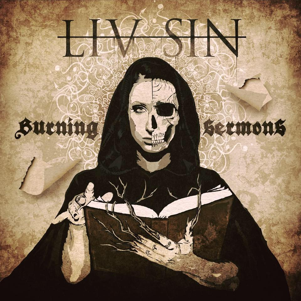 LIV SIN Burning Sermon (2019) Heavy Metal Suède 65935511