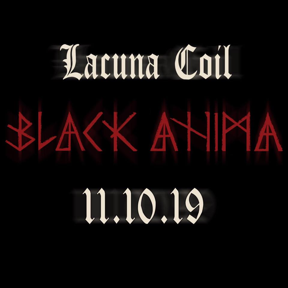 LACUNA COIL Black Anima (2019) Metal Symphonic Italie 66446810