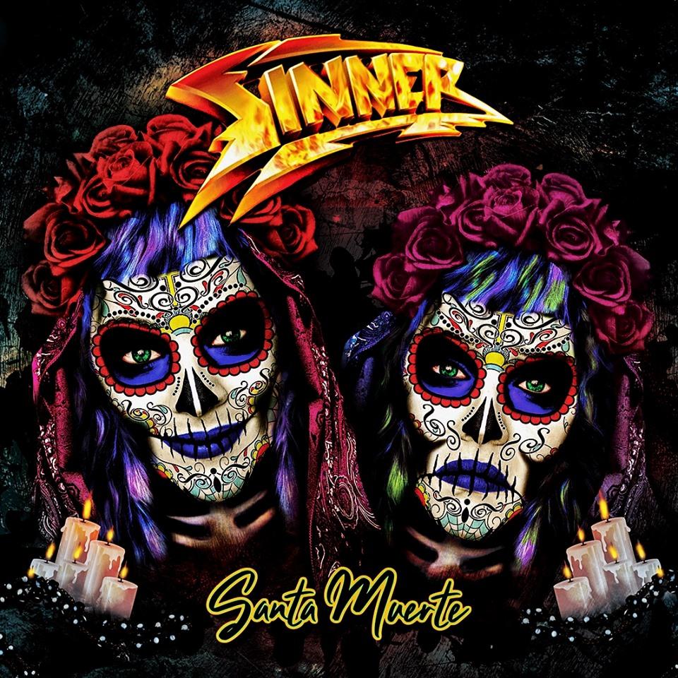 SINNER Santa Muerte (2019) Heavy Metal ALLEMAGNE 66457010