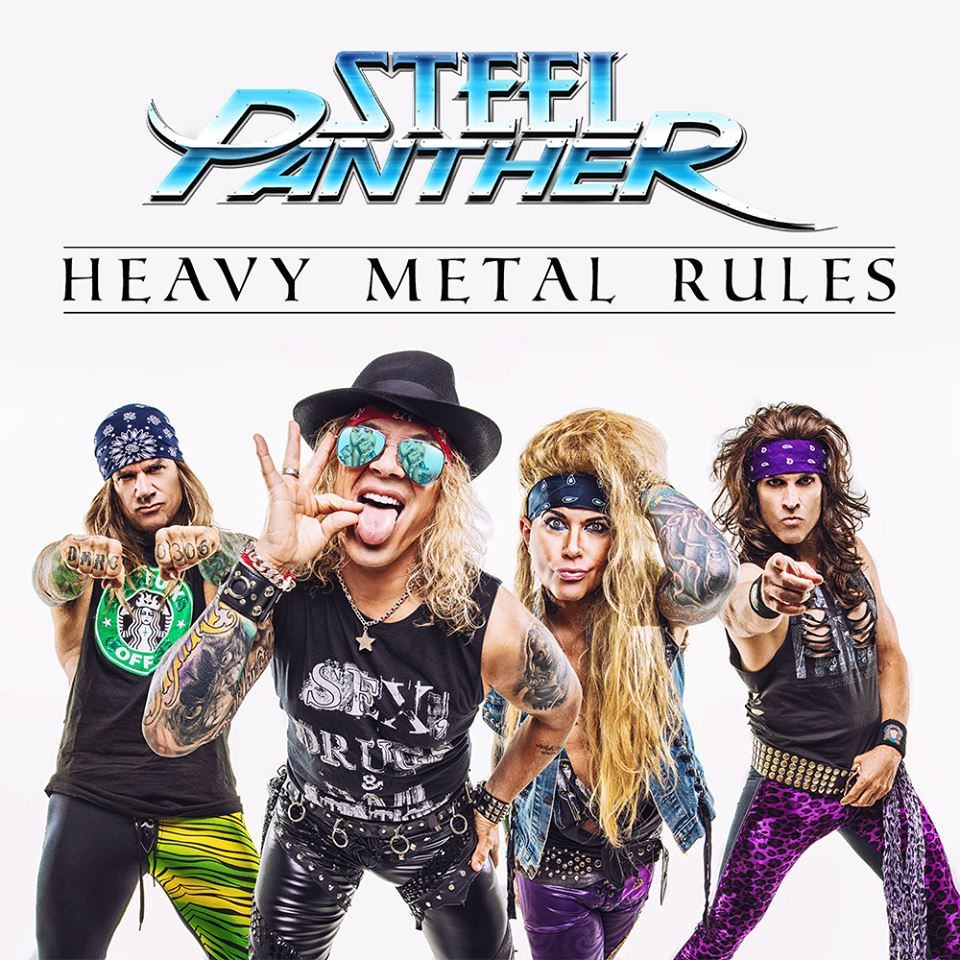 STEEL PANTHER Heavy Metal Rules (2019) Glam Rock U.S.A 66581710